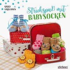 Strickspaß mit Babysocken (eBook, ePUB) - Virolainen, Kikka