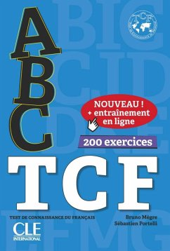 ABC TCF. Tous niveaux. Buch+Audio-CD+Online-Übungen
