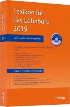 Lexikon für das Lohnbüro 2019 - Schönfeld, Wolfgang; Plenker, Jürgen