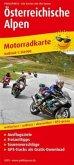 PUBLICPRESS Motorradkarte Österreichische Alpen
