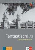 Fantastisch A2. Lehrerhandbuch mit Audio-CD und Video-DVD