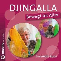 Djingalla Bewegt im Alter, 1 Audio-CD - Kleinstoll, Karin