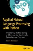 Applied Natural Language Processing with Python (eBook, PDF)