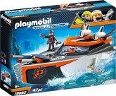 PLAYMOBIL® 70002 Spy Team Turboship