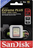 SanDisk Extreme Plus SDXC 128GB 150MB V30 U3 SDSDXW5-128G-GNCIN