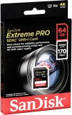 SanDisk Extreme Pro SDXC 64GB 170MB V30 U3 SDSDXXY-064G-GN4IN