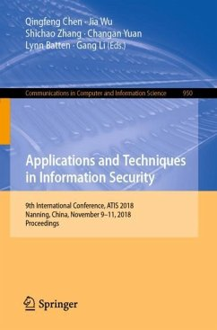 Applications and Techniques in Information Secu...