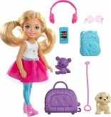 Barbie Travel Chelsea Puppe und Zubehör
