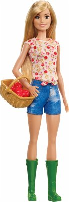 Mattel GCK68 Barbie® Farm Barbie Puppe
