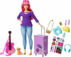 Barbie Travel Puppe (pink) und Zubehör