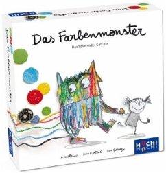 Das Farbenmonster - Das Spiel (Kinderspiel)