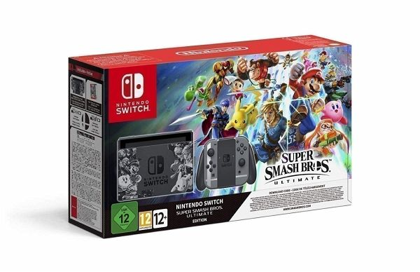Super Smash Bros. Ultimate-Edition Bundle (Nintendo Switch)