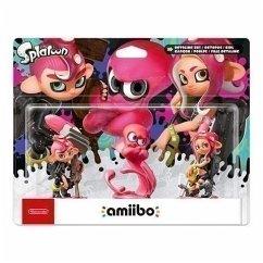 amiibo Oktoling-Mädchen, Oktoling-Junge und Oktoling-Oktopus 3in1 Set