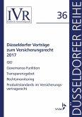 Düsseldorfer Vorträge zum Versicherungsrecht 2017 (eBook, PDF)