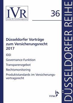 Düsseldorfer Vorträge zum Versicherungsrecht 20...