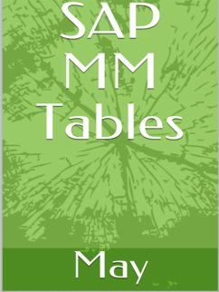 SAP MM Tables (eBook, ePUB)