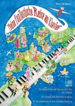 Meine funTastische Reise am Klavier - Bergmann, Hanna