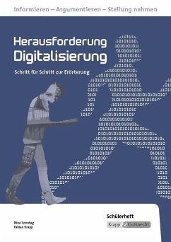Herausforderung Digitalisierung. Schülerheft. Realschule. Baden-Württemberg - Sonntag, Nina; Krapp, Fabian