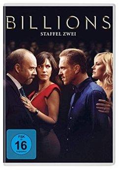 Billions - Staffel 2 DVD-Box - Paul Giamatti,Damian Lewis,Maggie Siff