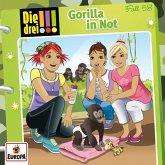 Die drei !!! - Gorilla in Not, 1 Audio-CD