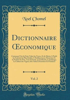 Dictionnaire OEconomique, Vol. 2