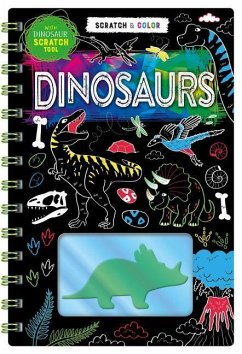 Scratch Art: Dinosaurs