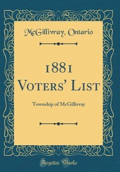 1881 Voters´ List