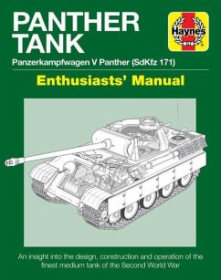 Panther Tank Enthusiasts' Manual: Panzerkampfwagen V Panther (Sdkfz 171) - An Insight Into the Design, Construction and Operation of the Finest Medium - Healy, Mark