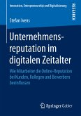 Unternehmensreputation im digitalen Zeitalter (eBook, PDF)