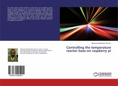 Controlling the temperature reactor base on raspberry pi