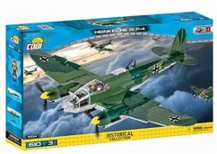COBI Small Army 5534 - Heinkel He 111 P-4 Bomber, Bausatz, 610 Teile