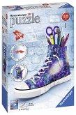 Ravensburger 11219 - Sneaker, Galaxy Design, 3D Puzzle, 108 Teile