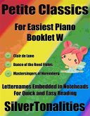 Petite Classics for Easiest Piano Booklet W (eBook, ePUB)