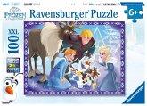 Ravensburger 10730 - Frozen, Familenzauber, Puzzle, 100 XXL-Teile