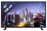 Grundig 43 GUB 8960 schwarz 108 cm (43 Zoll) Fernseher (4K / Ultra HD)