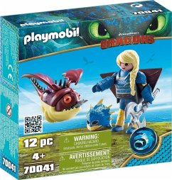 PLAYMOBIL® 70041 Astrid mit Fluganzug und Hobgobbler