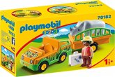 PLAYMOBIL® 70182 Zoofahrzeug mit Nashorn