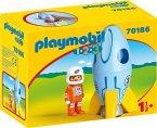 PLAYMOBIL® 70186 Astronaut mit Rakete