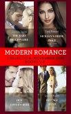 Modern Romance November Books 5-8: The Baby the Billionaire Demands (Secret Heirs of Billionaires) / Sicilian's Bride For a Price / Her Forgotten Lover's Heir / Revenge at the Altar (eBook, ePUB)