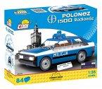 COBI Youngtimer 24533 - FSO Polonez Radiowoz, 84 Teile