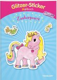 Glitzer-Sticker-Malbuch. Zauberponys (Mängelexemplar)