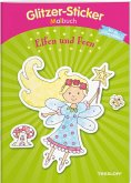 Glitzer-Sticker-Malbuch. Elfen und Feen (Mängelexemplar)