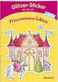 Glitzer-Sticker-Malbuch. Prinzessinnen-Schloss (Mängelexemplar)