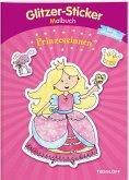 Glitzer-Sticker-Malbuch. Prinzessinnen (Mängelexemplar)