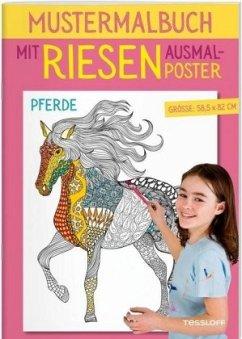 Mustermalbuch Pferde (Mängelexemplar)