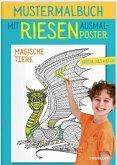 Mustermalbuch Magische Tiere (Mängelexemplar)