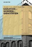 Variation - Normen - Identitäten (eBook, PDF)