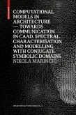 Computational Models in Architecture