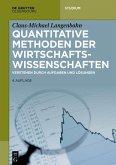 Quantitative Methoden der Wirtschaftswissenschaften (eBook, PDF)
