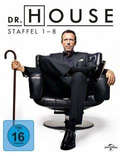 Dr. House - Die komplette Serie 1-8 BLU-RAY Box - Hugh Laurie,Omar Epps,Robert Sean Leonard